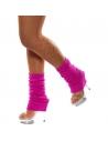 Chaussettes danse 80's fluo fuchsia | Accessoires