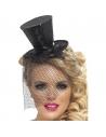 Mini chapeau haut de forme noir | Accessoires