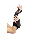 Gants résille noirs sans doigts | Accessoires