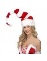 Bonnet Noël rayé rouge et blanc | Accessoires