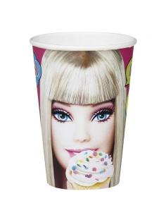 10 gobelets Barbie   Décorations