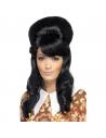 Perruque Brigitte noire bouffante | Accessoires