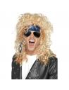 Kit Rocker Fan de Heavy Métal Homme (perruque, lunettes, bandana)