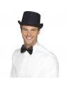 Chapeau haut de forme satiné noir | Accessoires