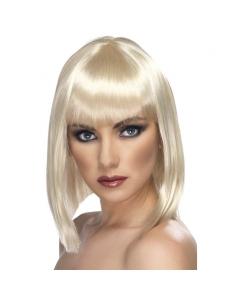 Perruque glamour blonde | Accessoires