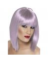 Perruque glam coeurte lilas | Accessoires