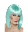 Perruque glam coeurte turquoise | Accessoires