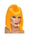 Perruque glam coeurte orange | Accessoires
