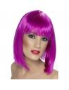 Perruque glam coeurte violette   Accessoires