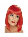 Perruque glam coeurte rouge | Accessoires