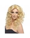 Perruque glamour longue frisée blonde | Accessoires