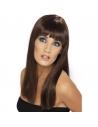 Perruque glamourama brune | Accessoires
