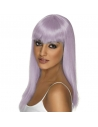 Perruque glamoura lilas | Accessoires