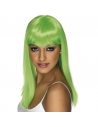 Perruque glamoura vert fluo   Accessoires