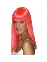 Perruque glamoura rose fluo | Accessoires