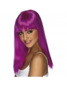 Perruque glamoura violet fluo | Accessoires