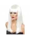 Perruque glamoura blanche   Accessoires