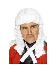 Perruque juge blanche | Accessoires