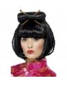 Perruque femme asiatique   Accessoires