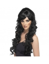 Perruque starlette pop noire | Accessoires