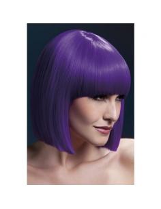 Perruque Alexia sexy 48 cm, violet | Accessoires