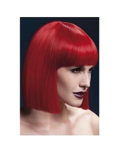 Perruque Alexia sexy 30 cm, rouge | Accessoires
