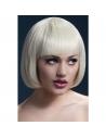 Perruque Fever Mia sexy 25 cm, blonde | Accessoires