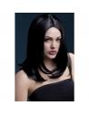 Perruque Sophia sexy 43 cm, noire | Accessoires