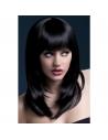 Perruque Tanja sexy 48 cm, noire | Accessoires