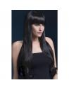 Perruque Bella sexy 71 cm, noire | Accessoires