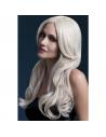 Perruque Khloe sexy 66 cm, blonde | Accessoires