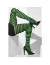 Collants rayés vert/noir | Accessoires