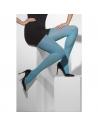 Collants bleus opaques | Accessoires
