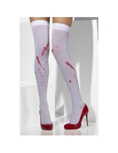 Bas blancs taches de sang | Accessoires
