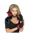 Kit Vampiresse Noire Sexy (cape, collerette, gants) | Accessoires