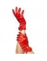 Gants coeurts avec Noeuds rouges   Accessoires