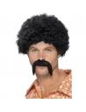 Kit disco Adulte (perruque, moustache)