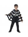 Cape enfant toile d'araignée ajourée noire  Accessoires
