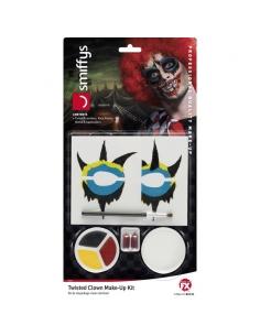 Kit maquillage clown de la mort | Accessoires