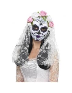 Masque mariée mortuaire | Accessoires
