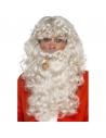Kit Père Noël Adulte (perruque, barbe, lunettes, pipe)
