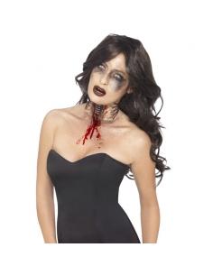 Blessure au cou explosé de zombie | Accessoires