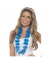 Collier hawaïen bleu fluo | Accessoires