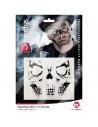 50 tattoos visage squelette   Accessoires