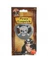 Cache-?il pirate satin noir | Accessoires
