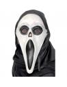 Masque fantôme hurlant phosphorescent + cagoule | Accessoires