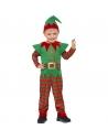 Déguisement elfe enfant en bas âge (combinaison-pantalon et bonnet)