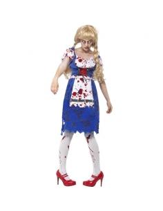 Costume bavaroise zombie | Déguisement