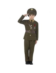 Costume officier de l'armée | Déguisement Enfant