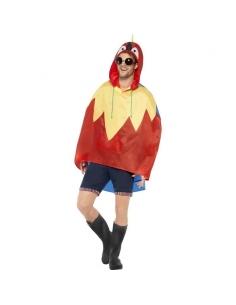 Poncho party imperméable perroquet | Déguisement